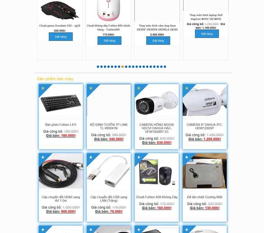 Thiết kế website bán hàng hiệu quả