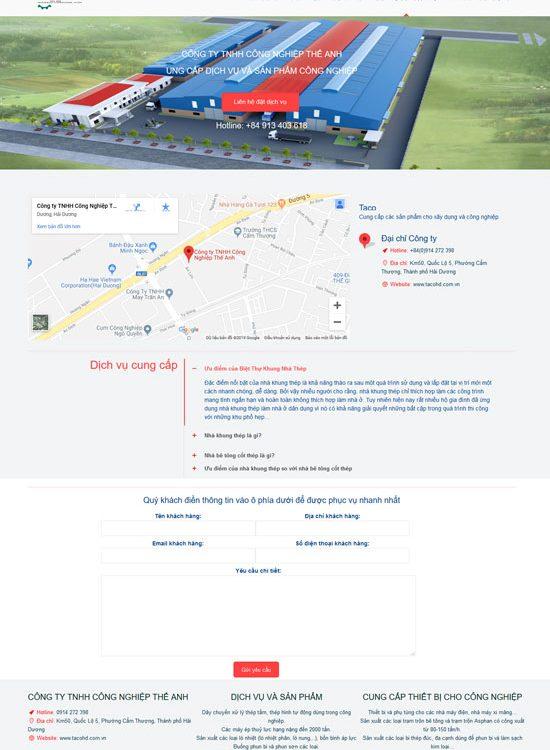 Thiết kế website chuẩn seo tại hải dương