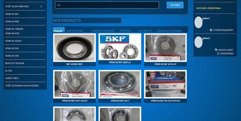 Làm Website bán hàng tại Hải Dương