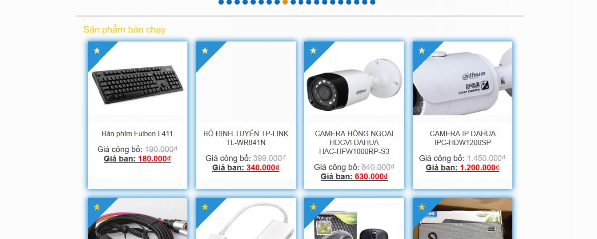 Làm website hải dương Nam Thăng